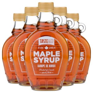 Kit 5 Xarope de bordo Maple Syrup 250ml Taste & Co