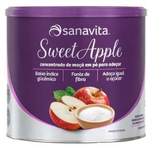 SWEETAPPLE Adoçante natural a base de maçã da Sanavita 250g