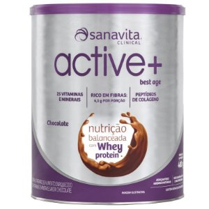 ACTIVE+ Best Age chocolate 400g Sanavita