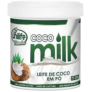 Leite de coco em pó Coco Milk 200g Unilife Vitamins