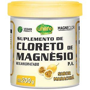 Cloreto de Magnésio Hexahidratado P.A Unilife 200g maracujá