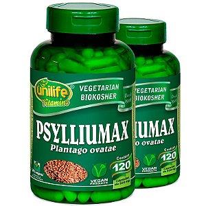 Kit 2 Psyllium 120 Cápsulas Psylliumax Unilife