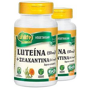 Kit 2 Luteína e Zeaxantina Unilife 60 Cápsulas