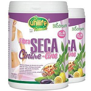Kit 2 Fibra Seca Cinture Line 400g Unilife