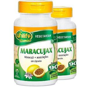 Kit 2 Maracujax Maracujá 90 cápsulas Unilife