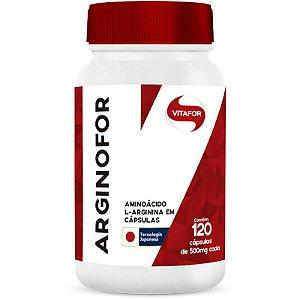 Arginina Arginofor com 120 Cápsulas da Vitafor