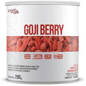 Goji Berry Solúvel 200g da Chá Mais Sabor Cereja e Framboesa