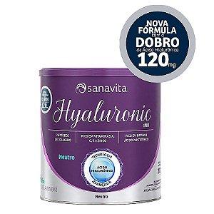 Hyaluronic ácido hialurônico Skin da Sanavita com 270g