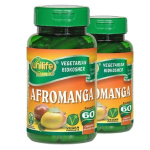 Kit 2 Afromanga Manga Africana 60 cápsulas Unilife