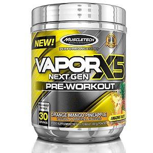 Vapor X5 Pré treino da Muscletech 30 doses - Frutas cítricas