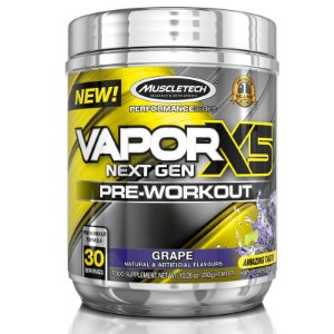 Vapor X5 Pré treino da Muscletech 30 doses - Uva