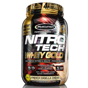 Nitro tech Whey Protein Gold Muscletech 997g Baunilha