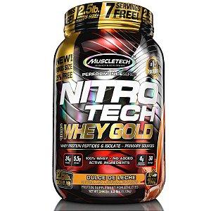 Nitro tech Whey Protein Gold Muscletech 997g Doce de leite