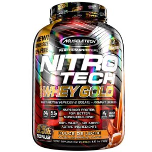 Nitro tech Whey Protein Gold Muscletech 2,5kg Doce de leite