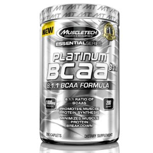 Platinum Bcaa 8:1:1 de 1000 mg 200 tablets Muscletech