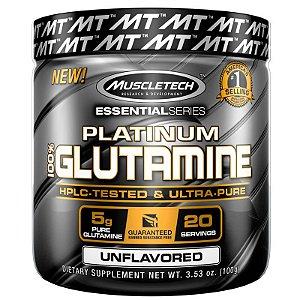 Platinum Glutamina 100% pura da Muscletech 400g