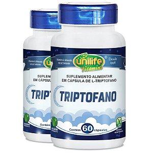 Kit 2 L-Triptofano da Unilife - 60 cápsulas