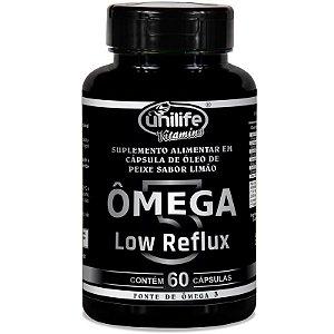 Ômega 3 - Low Reflux - Sabor limão  - 60 cápsulas