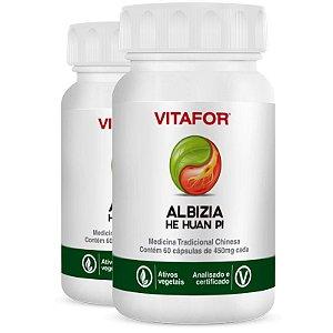 Kit 2 Albizia 450mg 60 Cápsulas MTC Vitafor