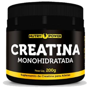Creatina Monohidratada Apisnutri - Nutry Power 200g
