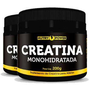 Kit 2 Creatina Monohidratada Apisnutri - Nutry Power 200g