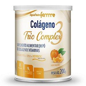 Colágeno tipo 2 + 1 Verisol Trio complex Apisnutri tangerina 200g