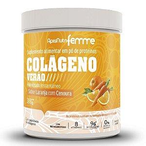Colágeno Verão Apisnutri Laranja com Cenoura 200g