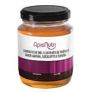 Composto de Mel sabor Agrião Apisnutri 300g