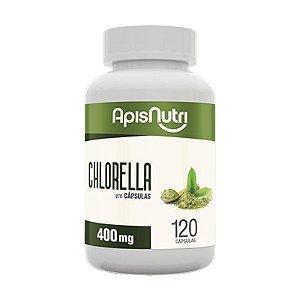 Chlorella Clorela Apisnutri 120 cápsulas