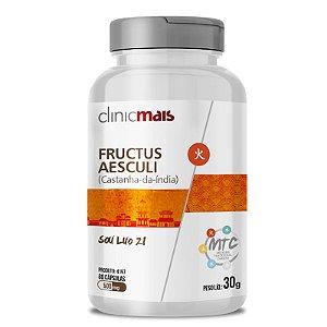 Castanha da Índia Fructus Aesculi 500mg MTC Clinic Mais 60 cápsulas