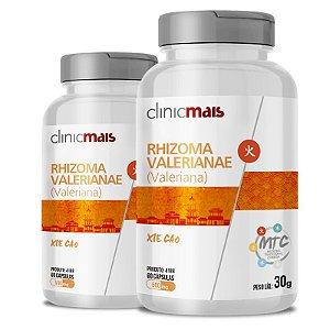 Kit 2 Valeriana Rhizoma Valerinae 500mg MTC Clinic Mais 60 cápsulas