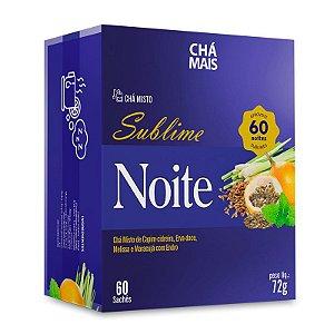 Chá Misto Sublime Noite Chá Mais 60 Sachês