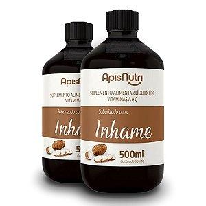 Kit 2 Elixir de Inhame Vitamínico 500ml Apisnutri