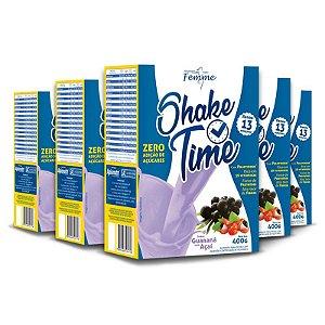 DUPLICADO - Kit 3 Shake com chia Chá Mais 400g Baunilha