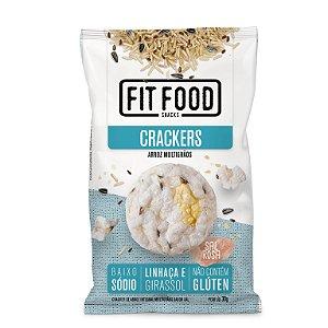 Cracker de Arroz Multigrãos Fit Food 30g