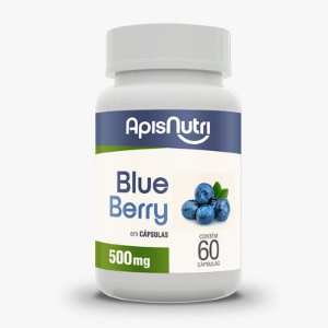 Blueberry 500mg Apisnutri 60 cápsulas