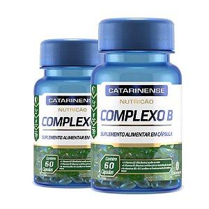 Kit 2 Complexo B Catarinense Pharma 60 Cápsulas