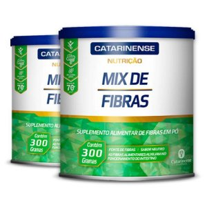 Kit 2 Mix de Fibras Catarinense Pharma 300g Neutro