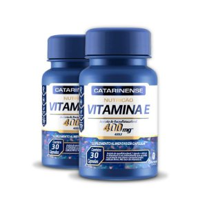 Kit 2 Vitamina E 400mg Catarinense 30 cápsulas