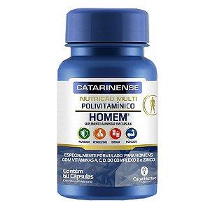 Polivitamínico Homem Catarinense 60 cápsulas