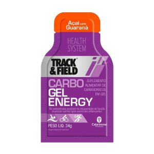 Carbo Gel Energy 10 Sachês Açaí com Guaraná