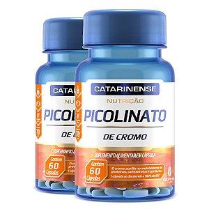 Kit 2 Picolinato de Cromo Catarinense Pharma 60 cápsulas