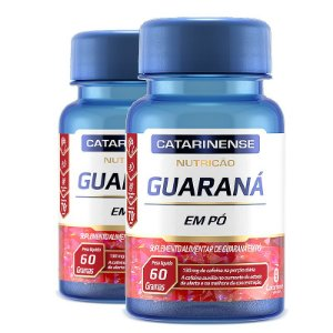 Kit 2 Guaraná Catarinense Pharma 60 comprimidos