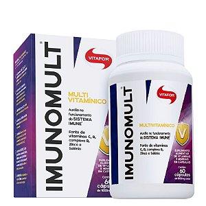 Imunomult Multivitamínico Vitafor 60 cápsulas