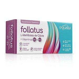 Follatus L- Metilfolato Equaliv 60 cápsulas