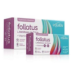 Kit 2 Follatus L- Metilfolato Equaliv 60 cápsulas