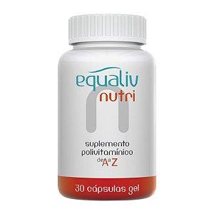 Nutri Imunidade A a Z Equaliv 30 cápsulas gel