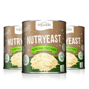 Kit 3 Nutryeast Nutritional Yeast Flakes Equaliv 180g