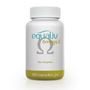 Ômega 3 1000mg Equaliv 120 cápsulas gel