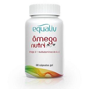 Ômega 3 Nutri A-Z Multivitamínico Equaliv 60 cápsulas
